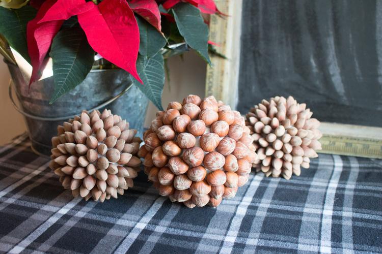 DIY hazelnut balls