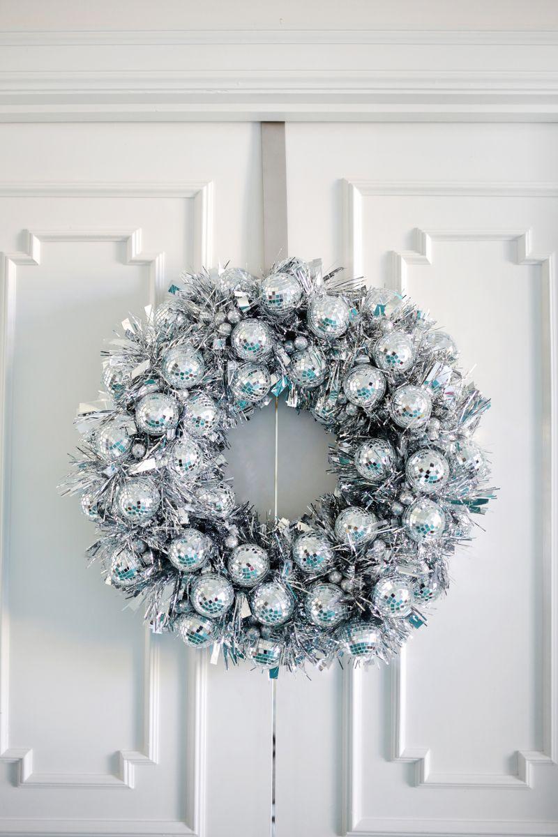 Disco Ball Wreath Wreath for Christmas