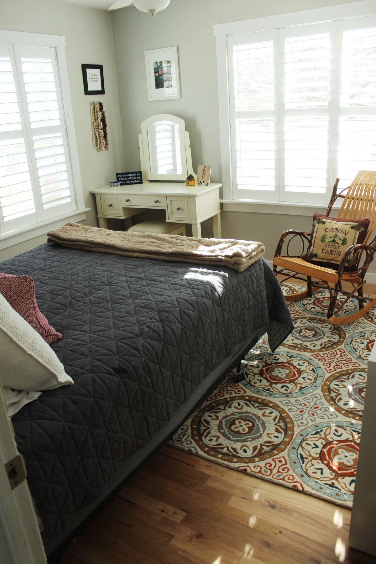 Feminine Master Bedroom Design
