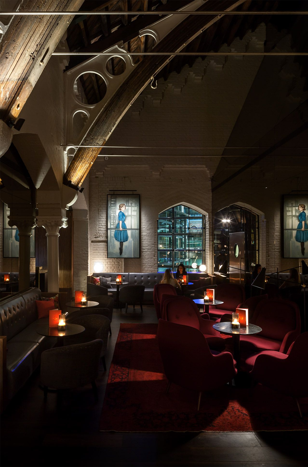 German Gymnasium by Conran & Partners – best restaurant in a heritage building