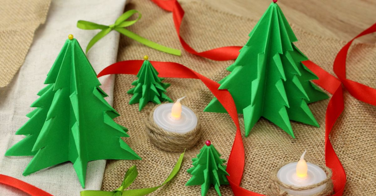 Fold A Forest Full Of Paper Christmas Trees Home