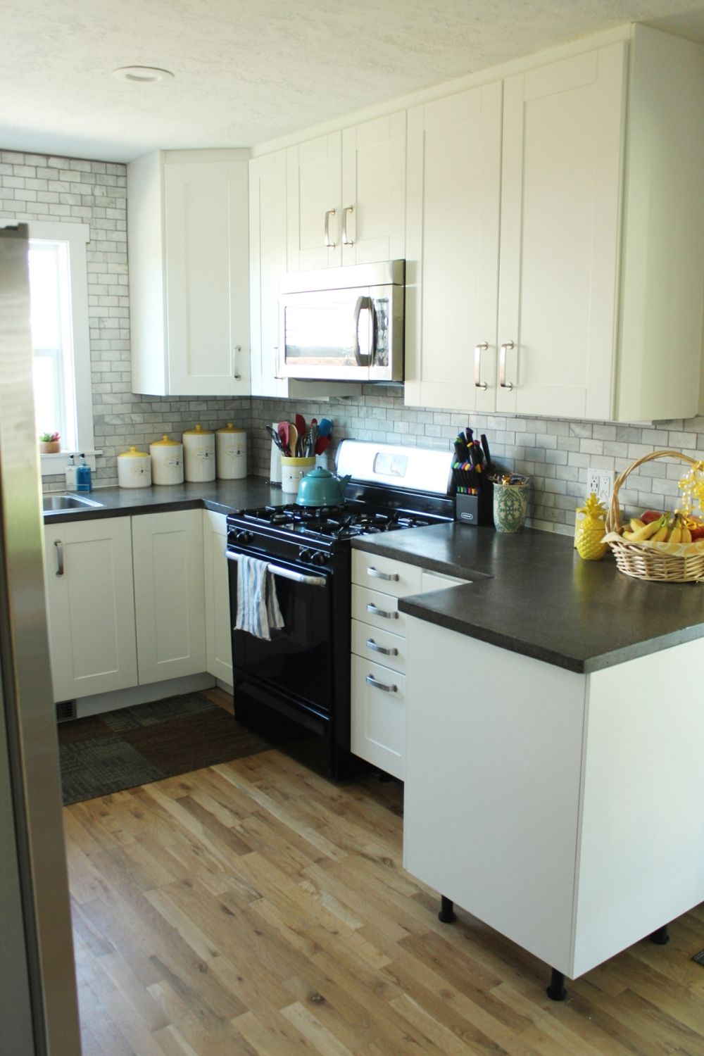How to Decorate a Kitchen…Without Losing Countertop Space on How To Decorate A Kitchen Counter  id=11591