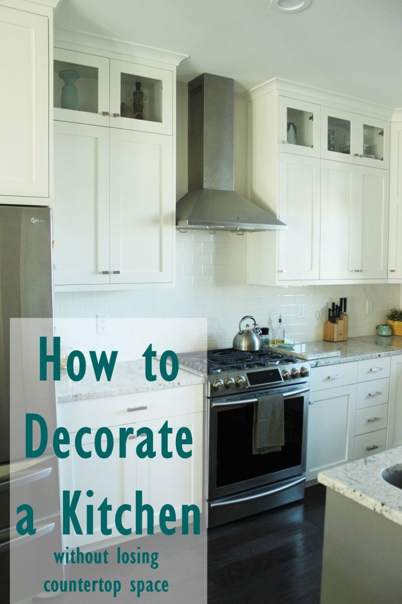 How to Decorate a Kitchen…Without Losing Countertop Space on How To Decorate A Kitchen Counter  id=57560