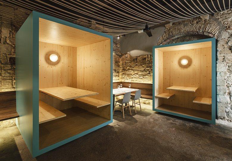 Interior La Bona Sort by Jordi Ginabreda Studio