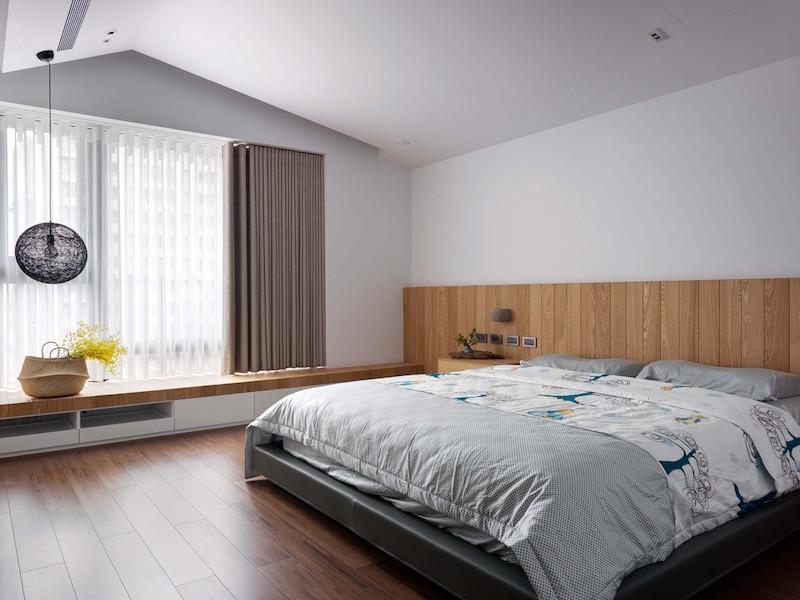 Jade apartment bedroom curtain