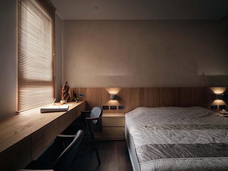 Jade apartment bedroom sleeping aera
