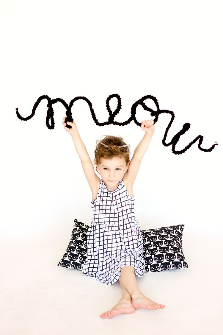 Kids DIY wire word