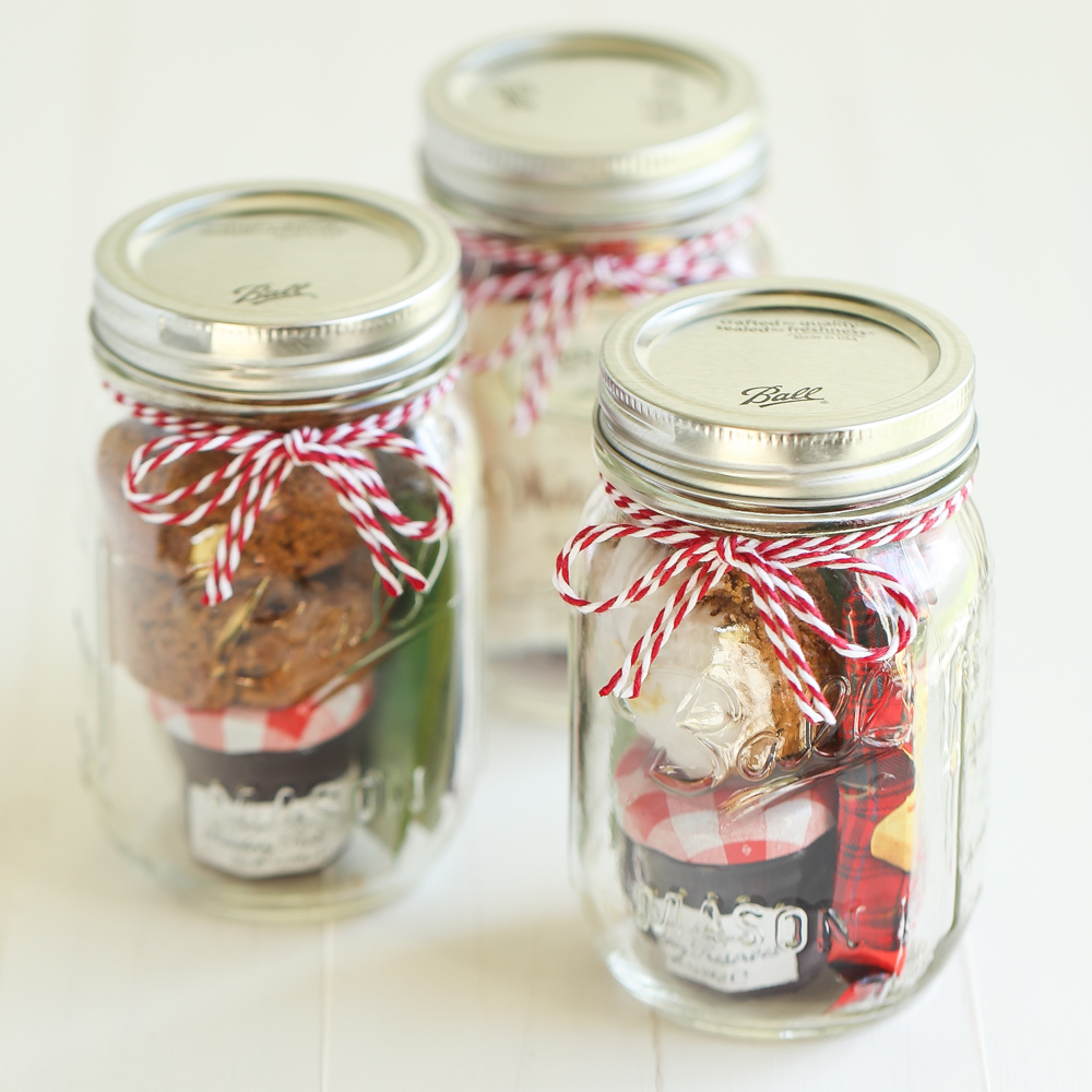 Mason Jars Gifts for Christmas