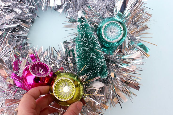 Mid Century Inspired Wreath