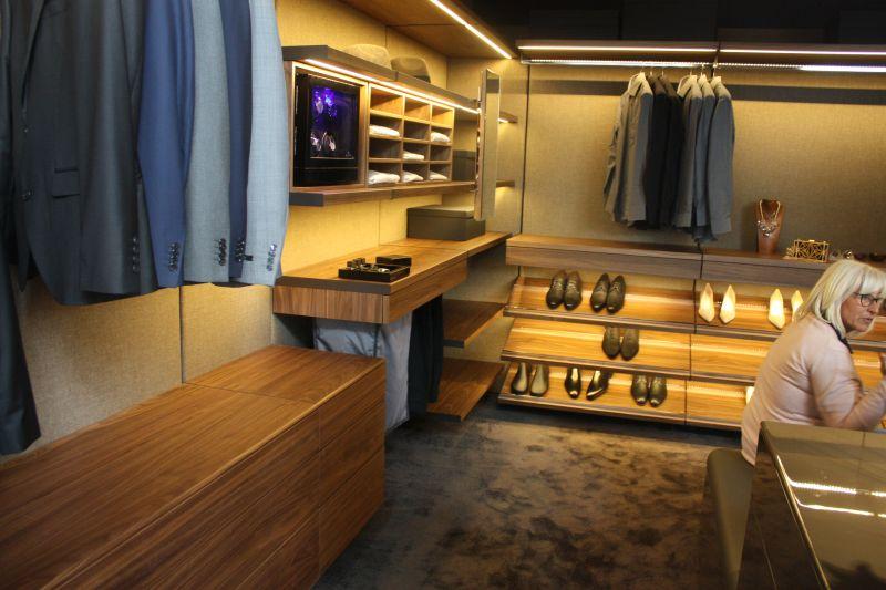 Modern Closet Organization System