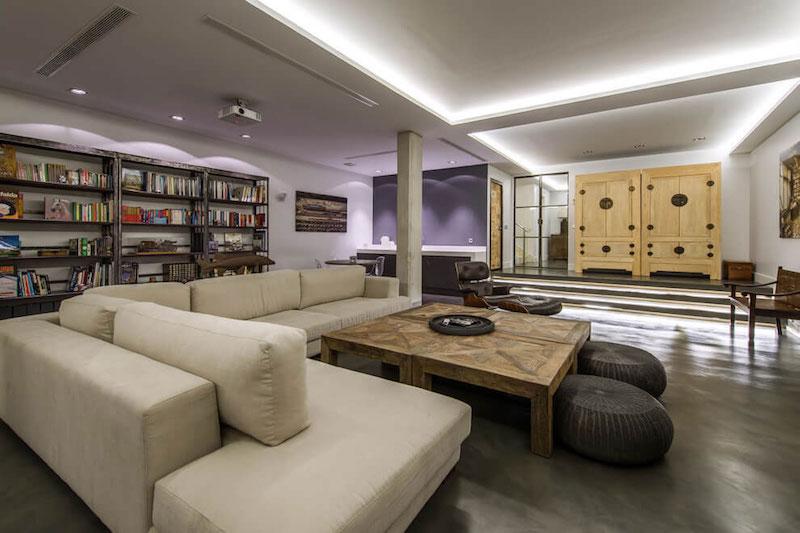 Residencial III house open floor plan