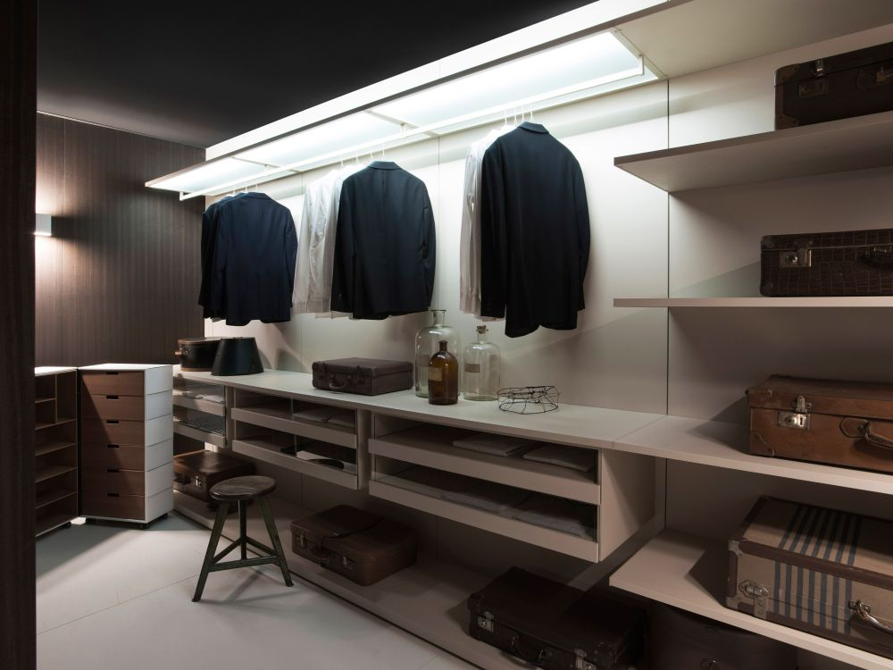 Storage Organization and Systems by Porro storage wardrobe Boiserie