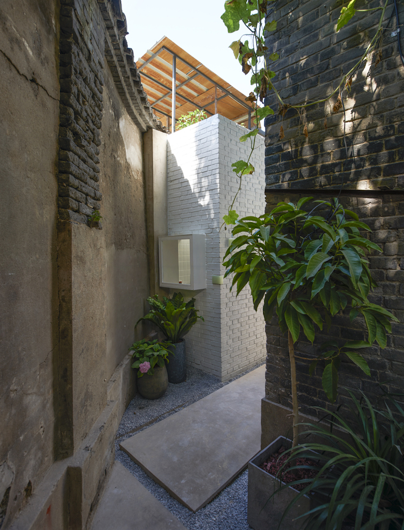 Tiny house in Dongcheng garden