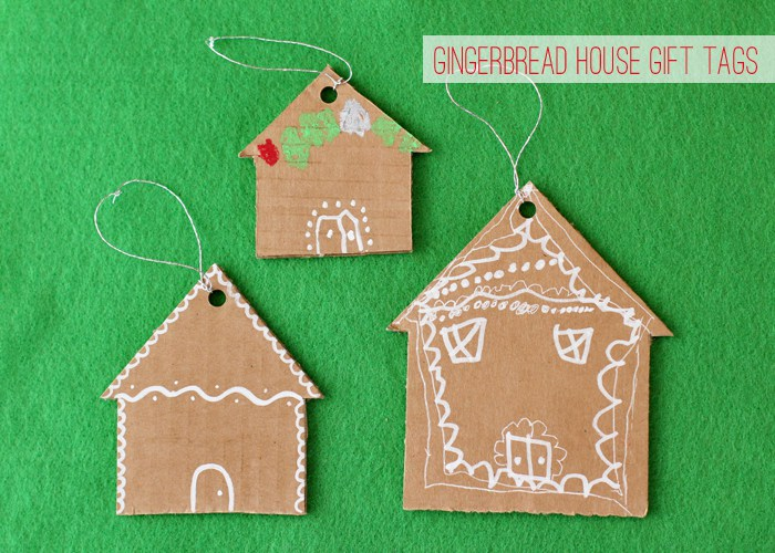 cardboard gingerbread