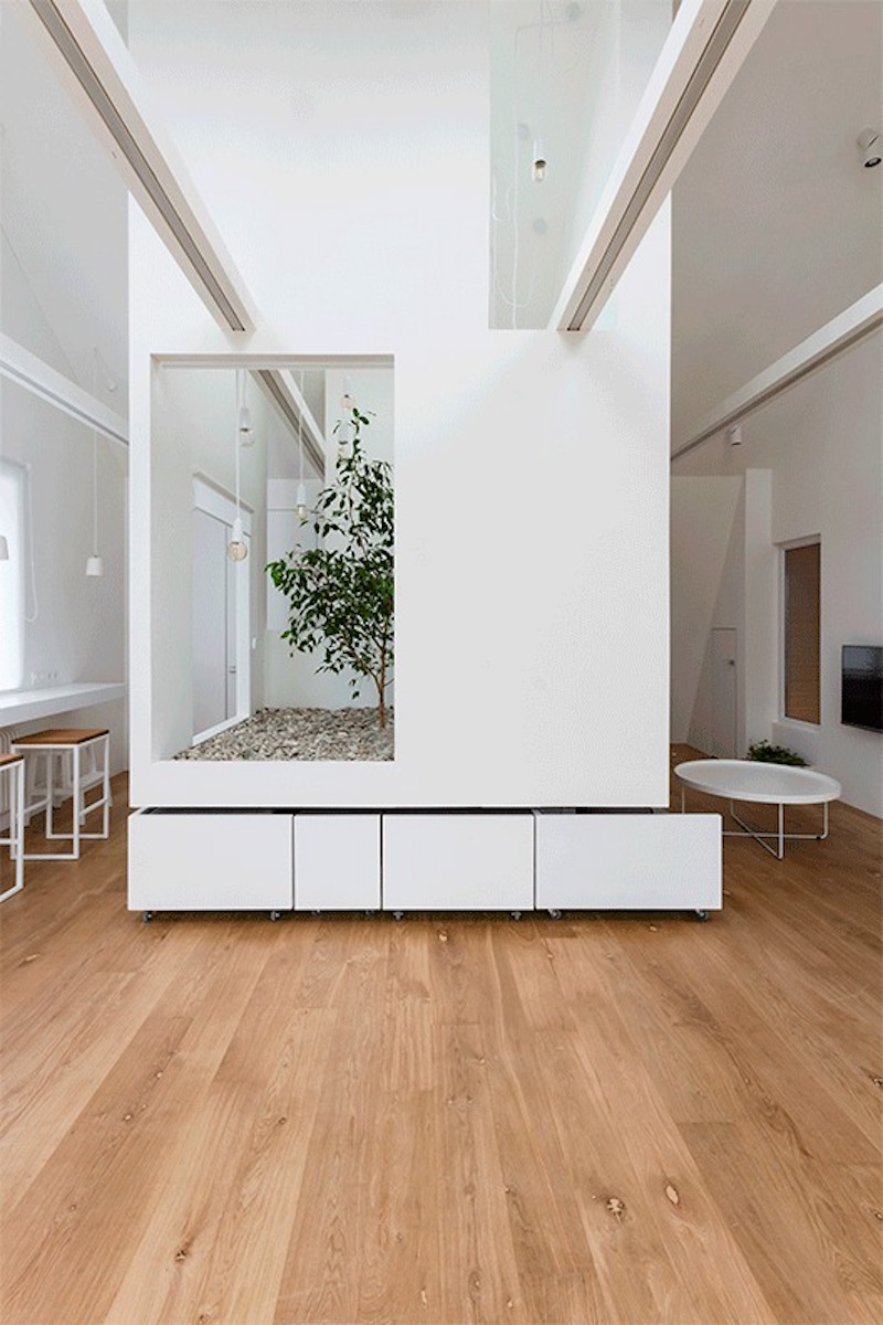 Ruetemple modular house white cube