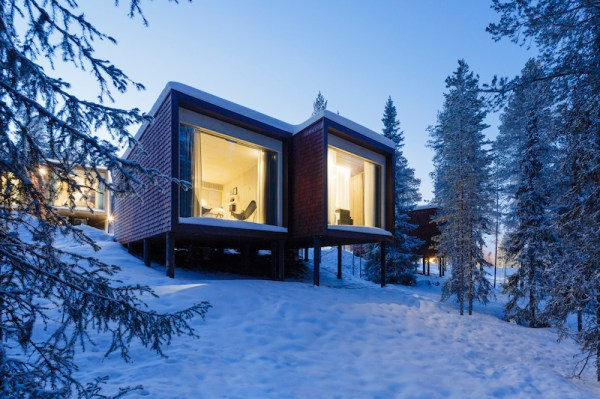 The Arctic Treehouse Hotel Welcomes Guests In Timber Units ...