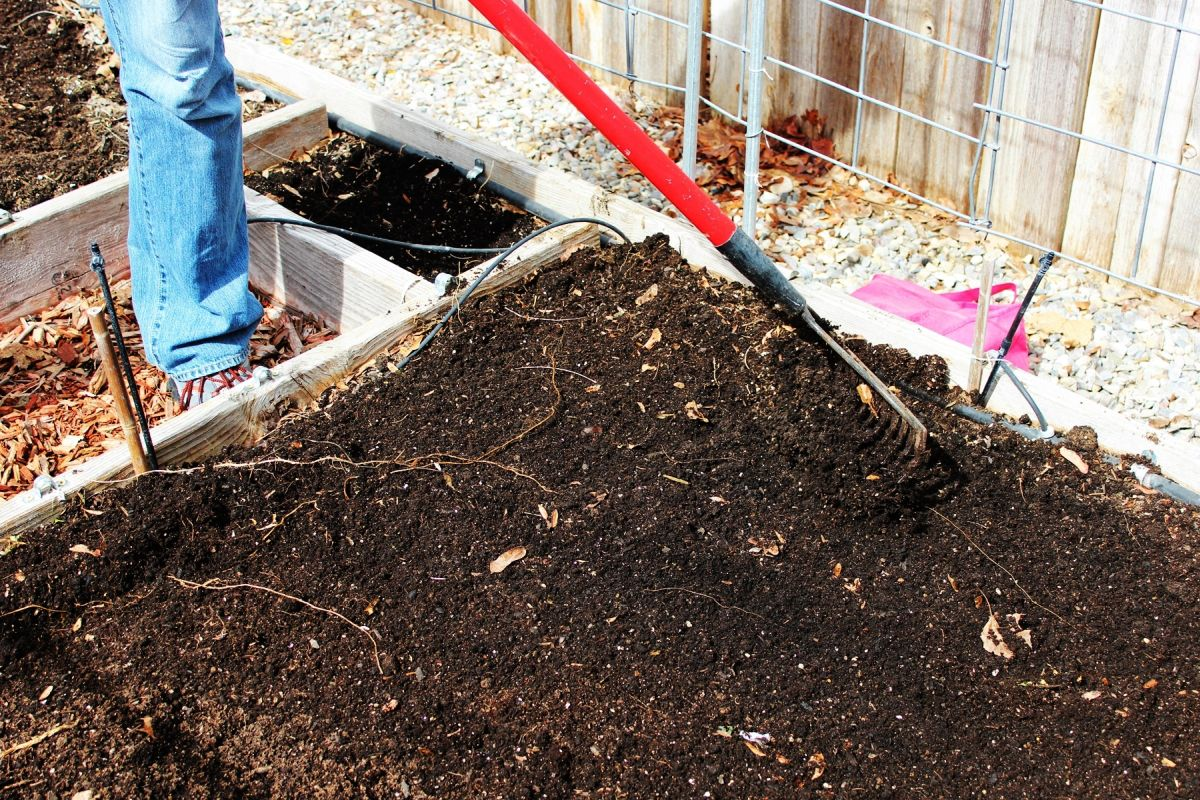 Vegetable Garden Box Soil Mix