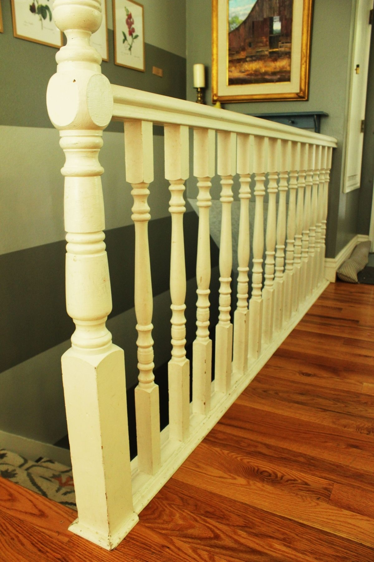 Diy Stair Handrail With Industrial Pipes And Wood | Diy Wood Stair Railing | Diy Unique | Cable | Cast Iron Pipe | Wood Frame | Easy