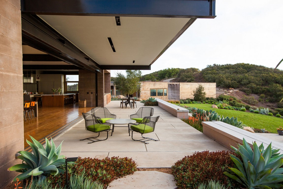 Cool Concrete Patio Designs And The Houses They Complement on Backyard Concrete Patio Designs  id=42340