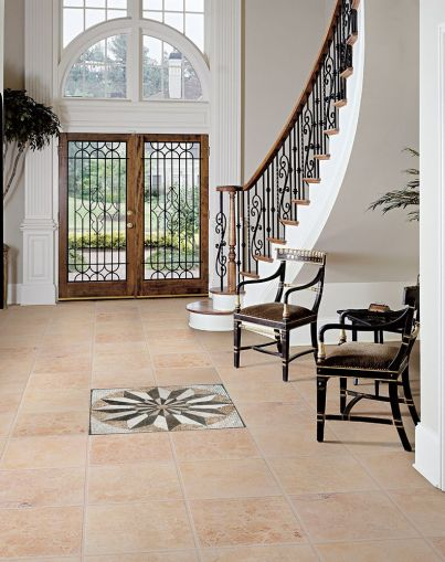 15 Floor Tile Designs For The Foyer 1  Focal Point