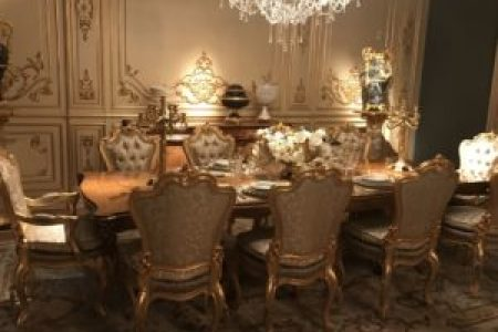 Details Make the Difference in Baroque  Rococo Style Furniture     10 Luxury Dining Rooms With Inspiring Baroque Style