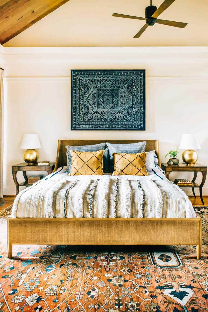 40 Bohemian Bedrooms To Fashion Your Eclectic Tastes After on Boho Master Bedroom Ideas  id=13968