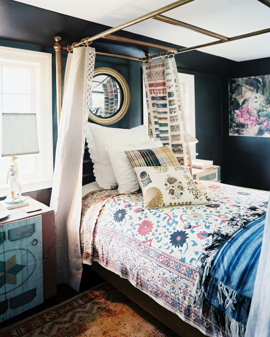 40 Bohemian Bedrooms To Fashion Your Eclectic Tastes After on Boho Bedroom Decor  id=89308