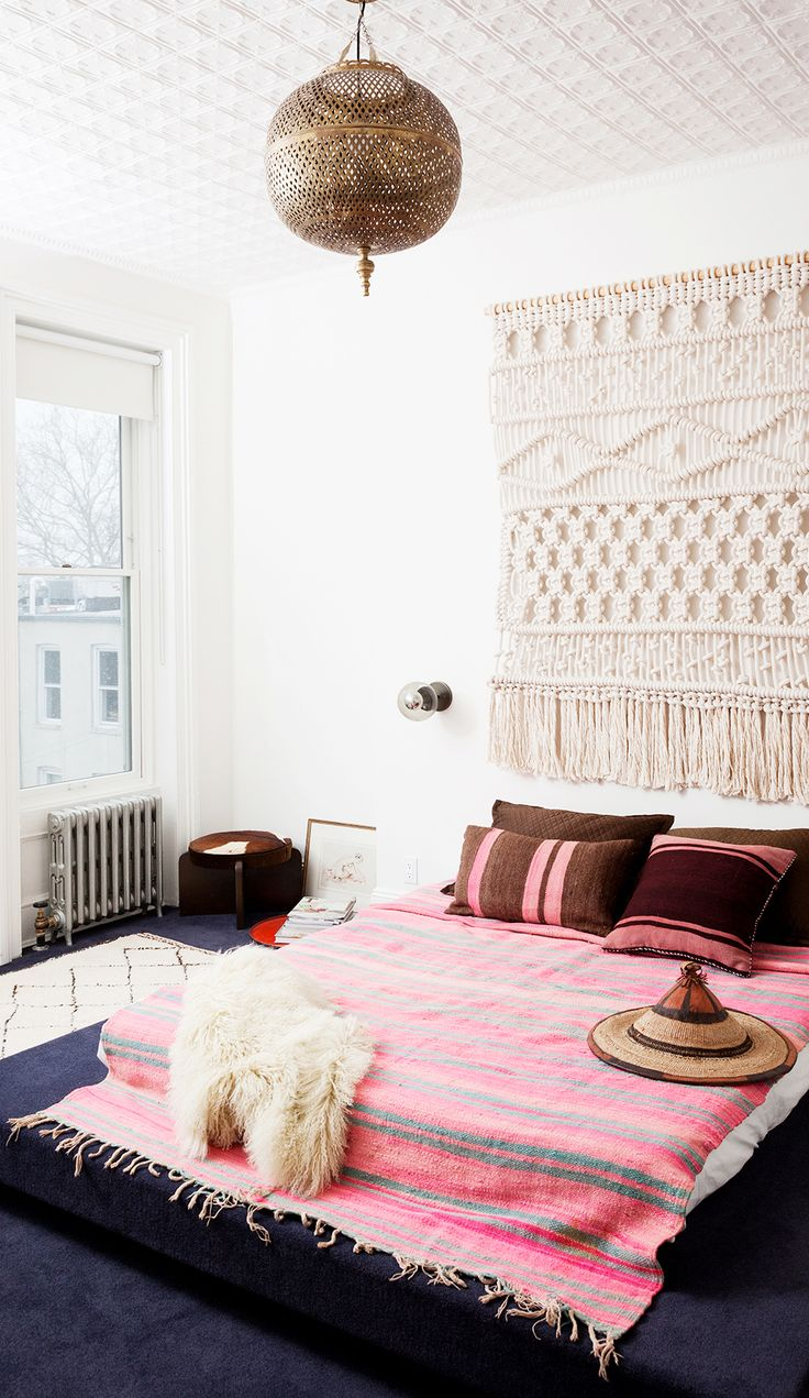 40 Bohemian Bedrooms To Fashion Your Eclectic Tastes After on Boho Bedroom  id=53430