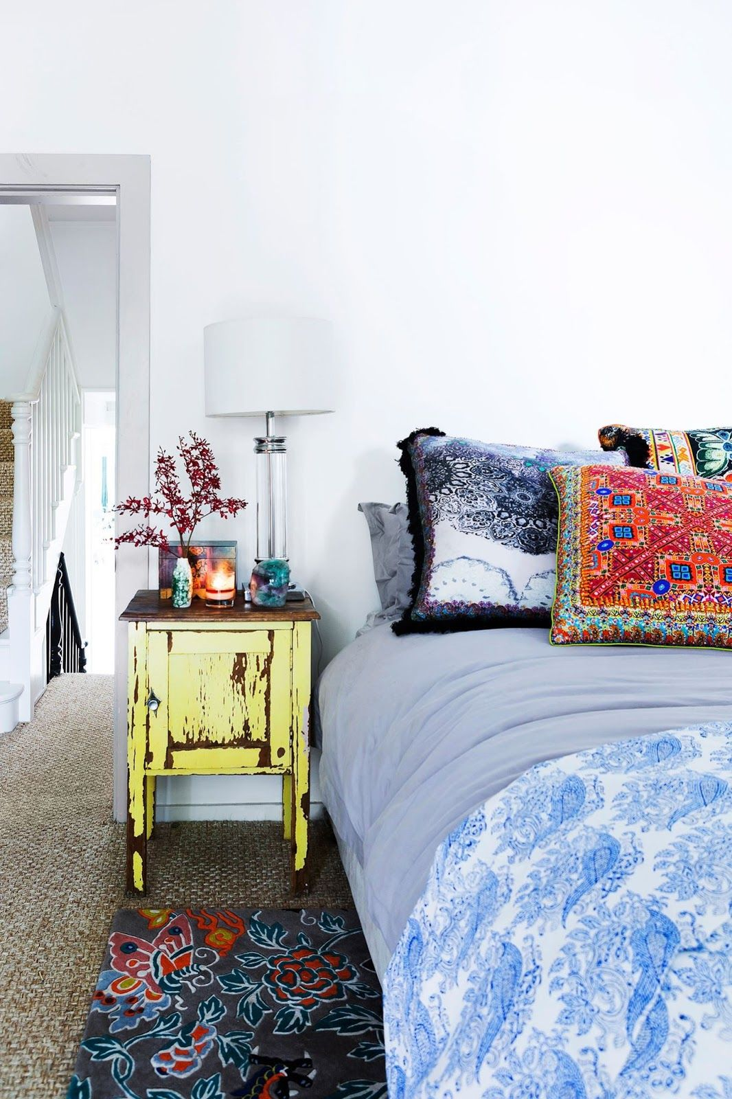 40 Bohemian Bedrooms To Fashion Your Eclectic Tastes After on Boho Bedroom Decor  id=84334