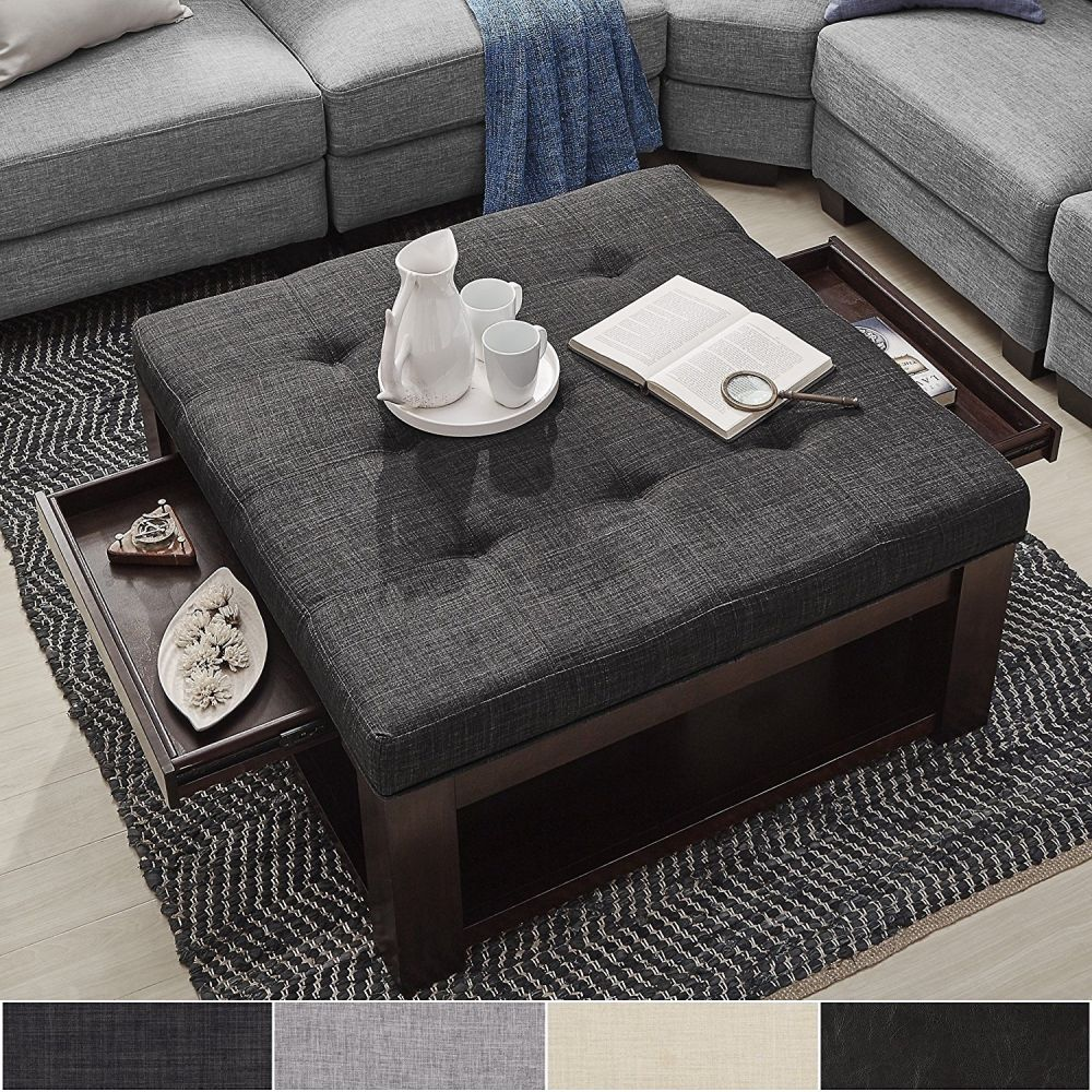 ottoman coffee table ideas it s time