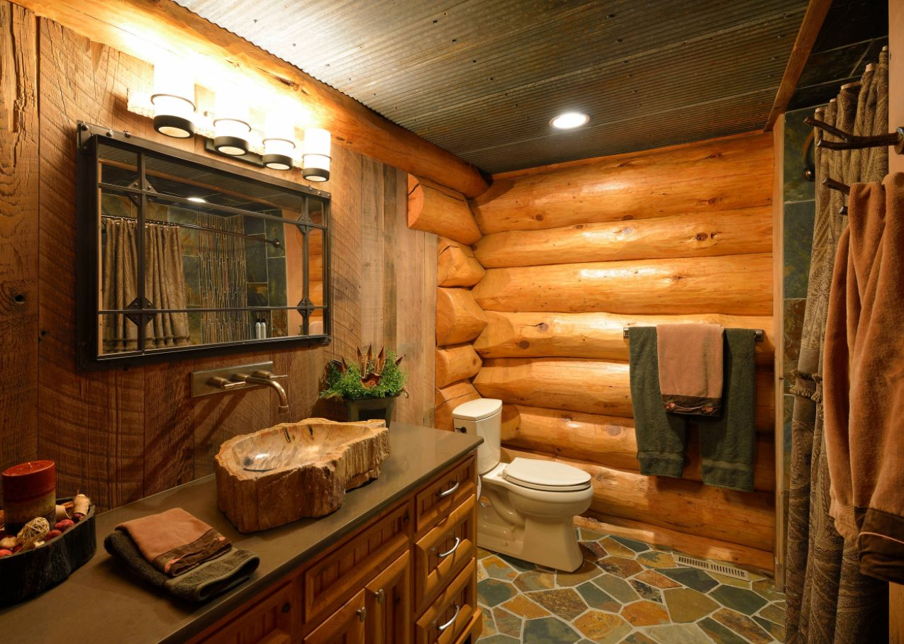 rustic bathroom ideas inspired by nature s beauty on rustic bathroom designs photos id=78835
