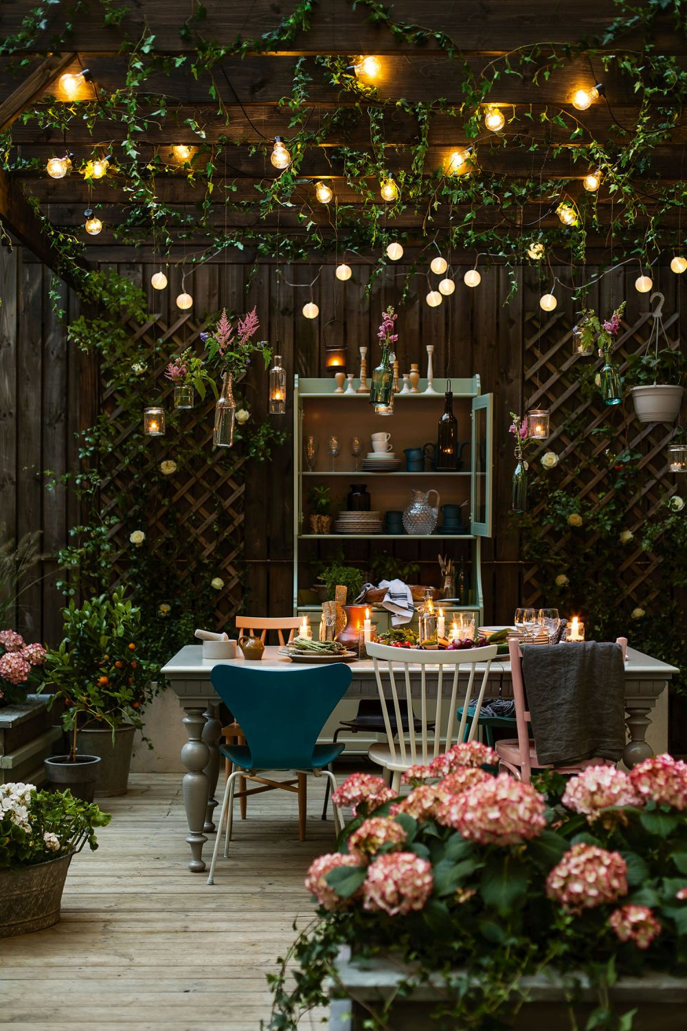 30 Cool Backyard Lighting Ideas For Magical Decors on Magical Backyard Ideas id=27057