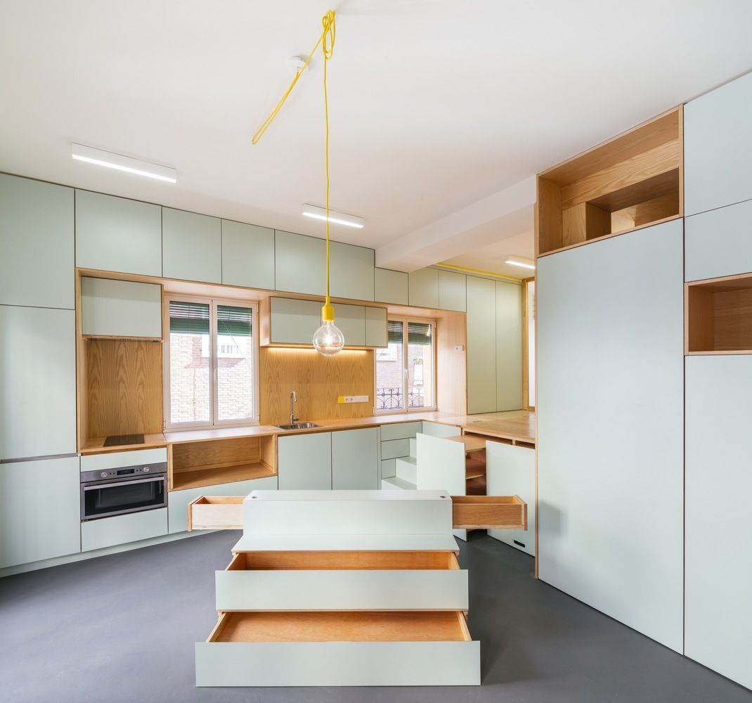 Small Kitchen Layouts Infused With Clever Design Solutions