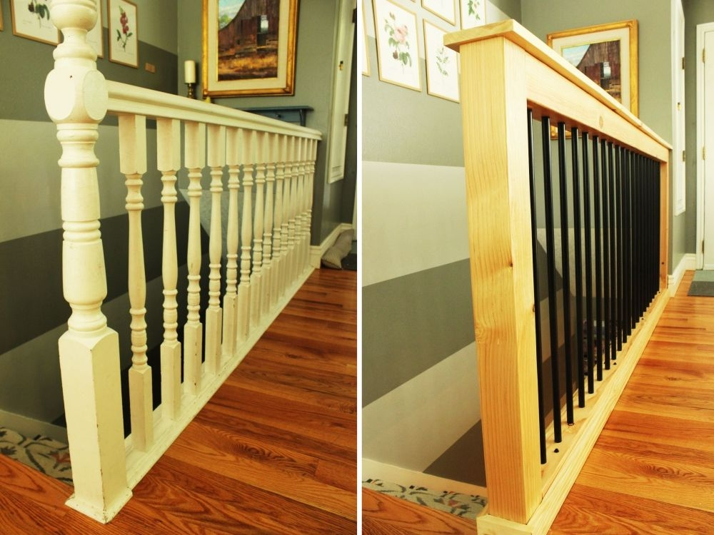 How To Give Your Old Stair Railings A Fresh New Look On A Small Budget | Wooden Stair Rails And Balusters | Stair Parts | Wrought Iron Balusters | Stair Spindles | Newel Posts | Stair Treads
