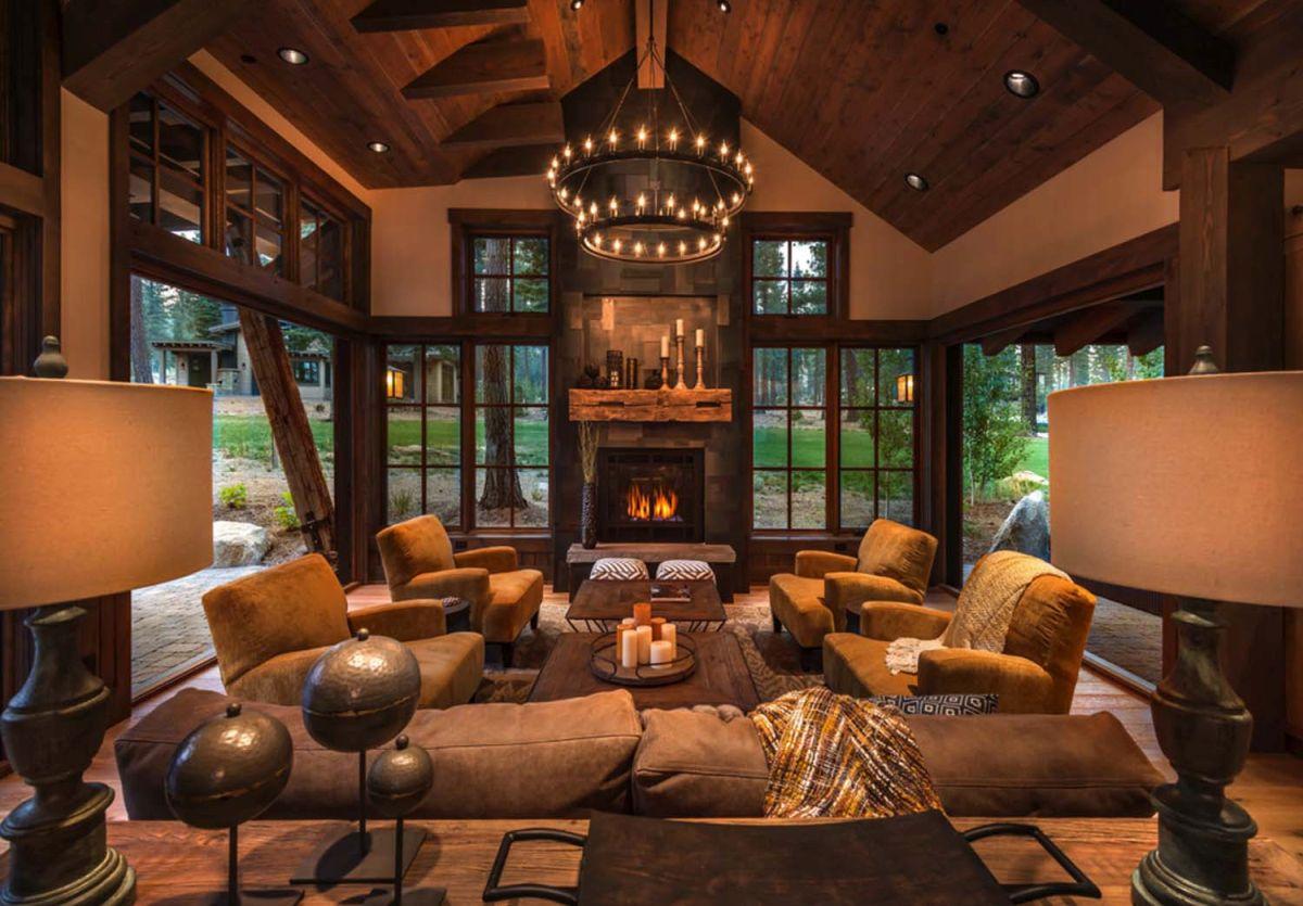 Cozy Cabin Living Room Ideas Novocom Top