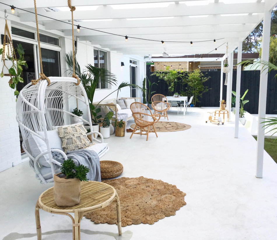 The 45 Best Patio Decorating Ideas for Every Style of House on White Patio Ideas id=74121