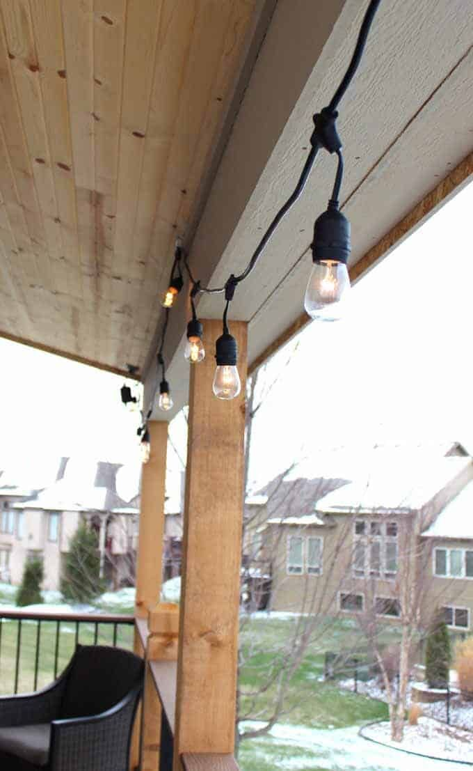how to use string lights to create