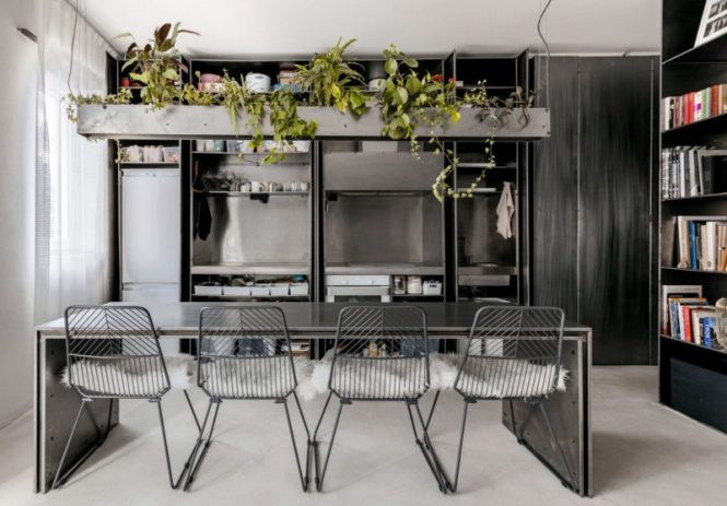 Apartment Gets Rid Of Its Walls In Favor Open E Living