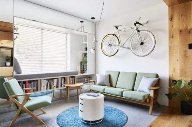 A Tiny Apartment Successfully Transformed Into An Amazing Modern Home