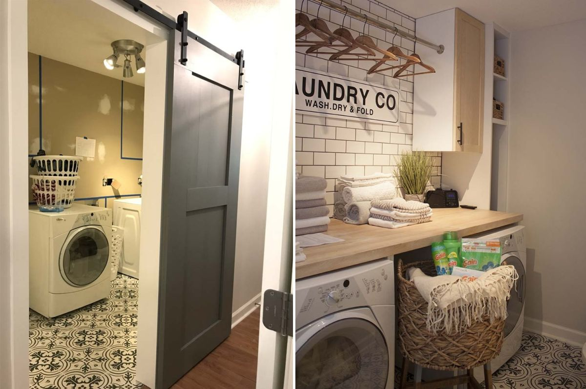 Inspiring Laundry Room Makeover Ideas With Amazing Results on Amazing Laundry Rooms  id=16688