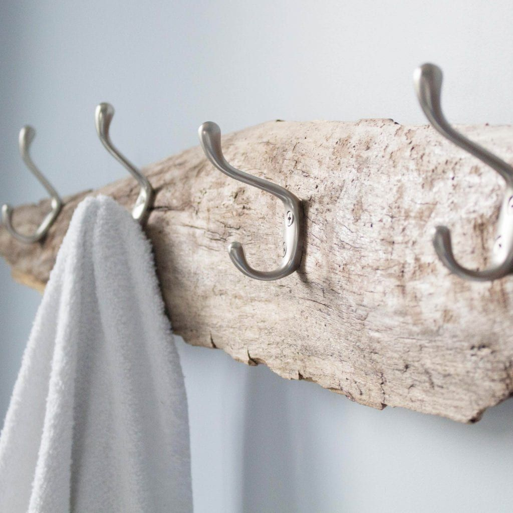 simple diy coat racks made out of wood
