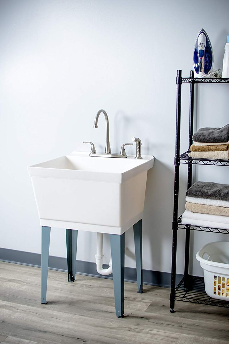 best utility tub designs for laundry rooms