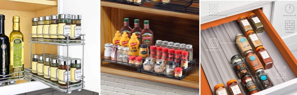 best spice racks for a modern kitchen