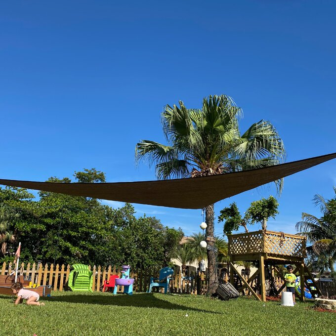best patio shade sails