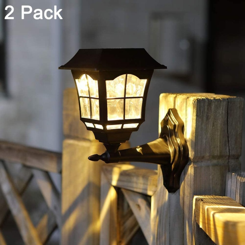 10 best solar fence lights reviews