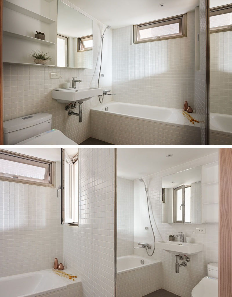 Making The Most Of A Small Apartment Bathroom - Clever ... on Apartment Bathroom Ideas  id=58091