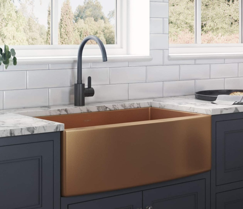 stylish copper kitchen sinks and why
