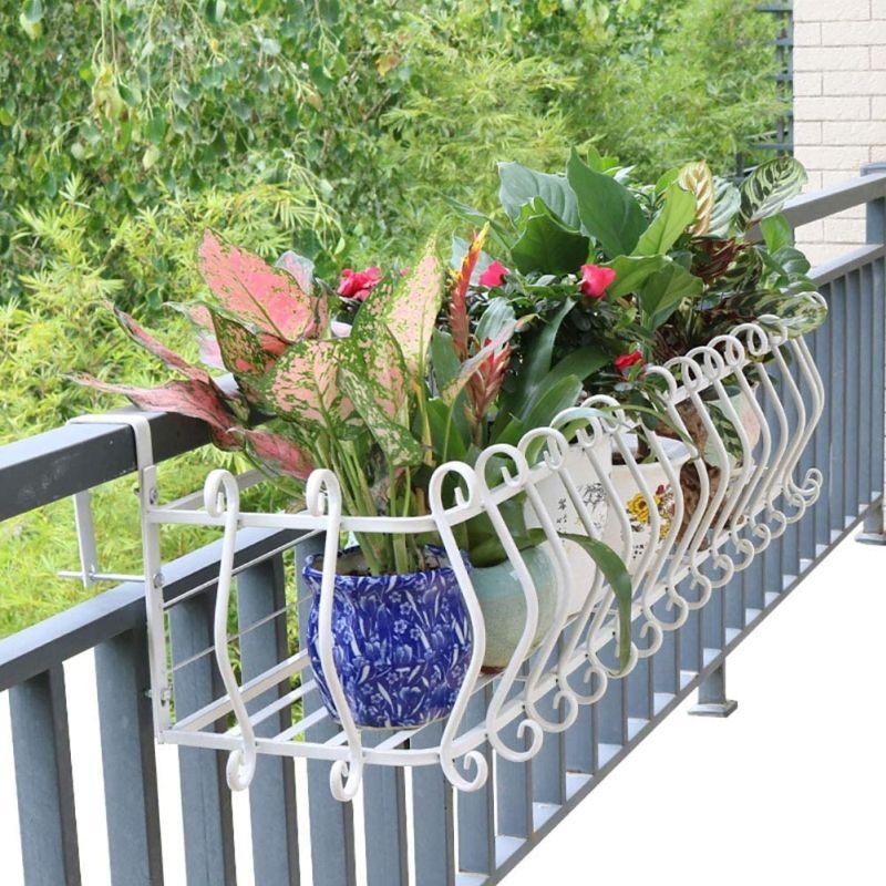 cute and functional deck rail planter ideas