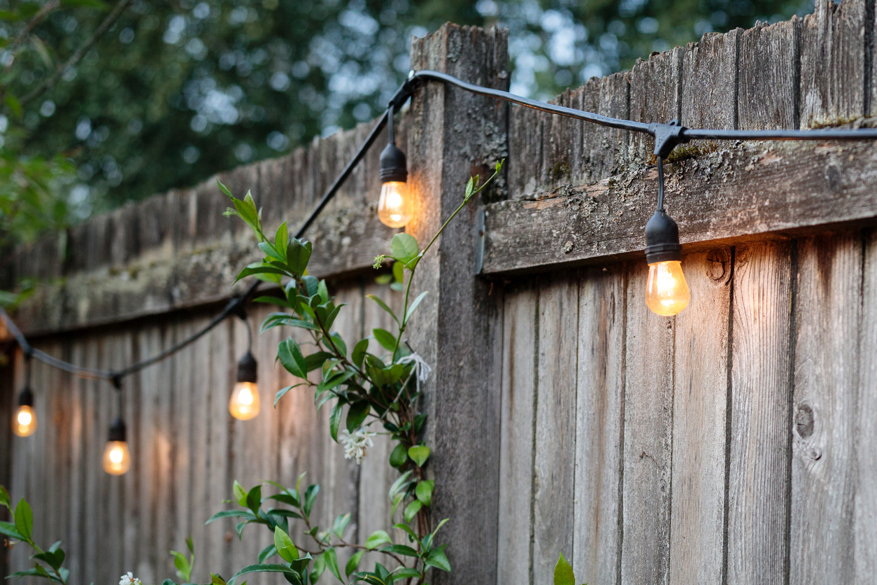 light up your patio save money with solar powered string lights