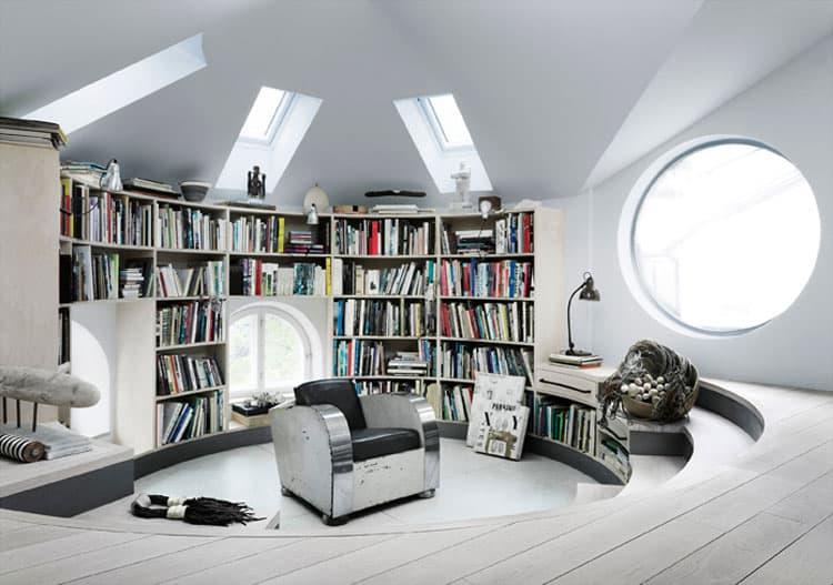 Scandinavian Design Amazing Loft Studio Of Artist